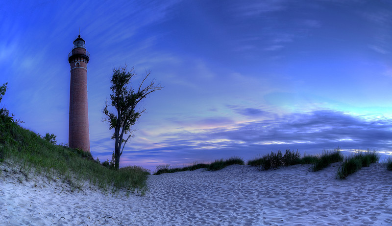 Dusk at Little Sable Lighthouse