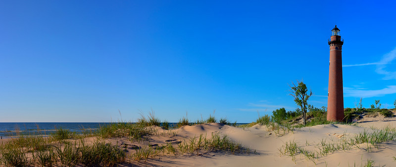 Blue Skies over Little Sable