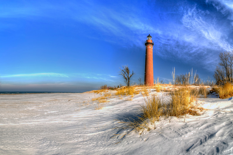Little Sable in Winter
