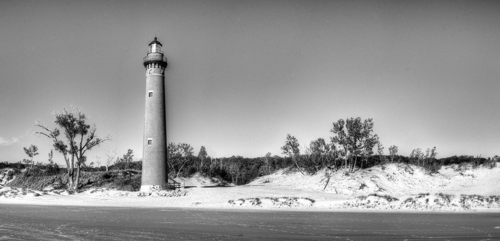 Little Sable Lighthouse (BW)