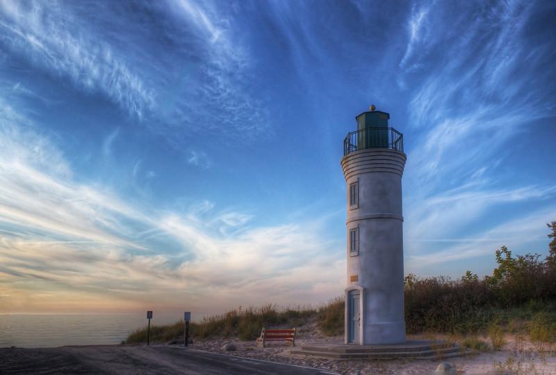 Summer Skies over Manning Lighthouse