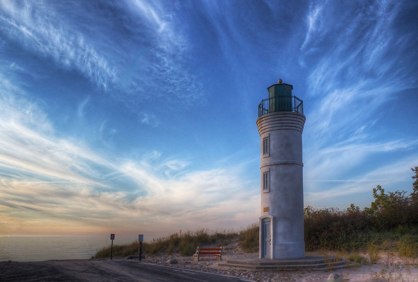 Summer Skies over Manning Lighthouse