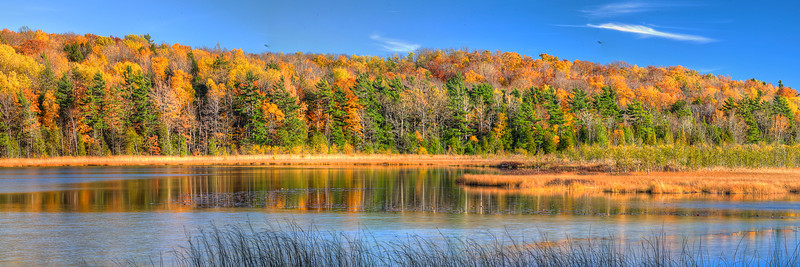 Autumn Lake in Sleeping Bear Dunes