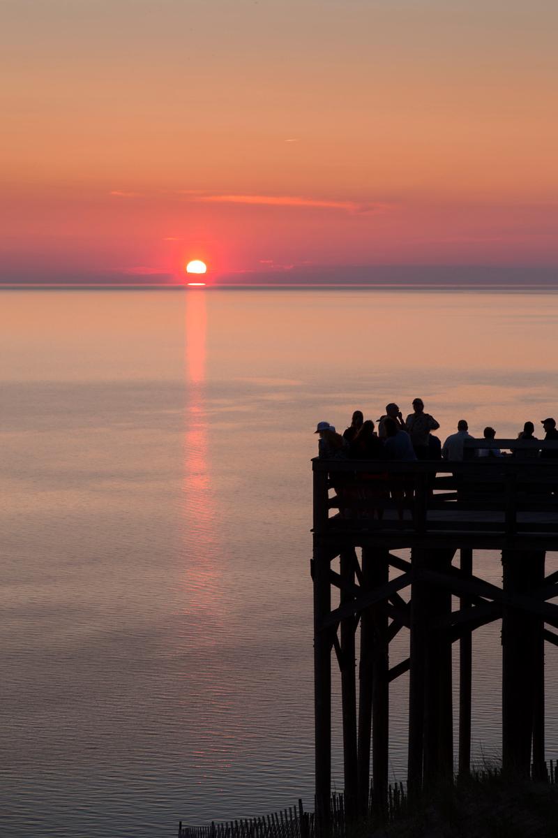 Pierce Stocking Overlook Sunset