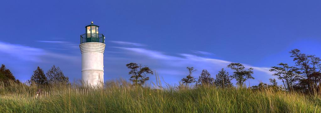 Empire Lighthouse Panorama