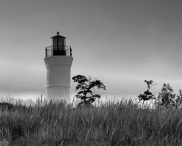 Empire Lighthouse (BW)