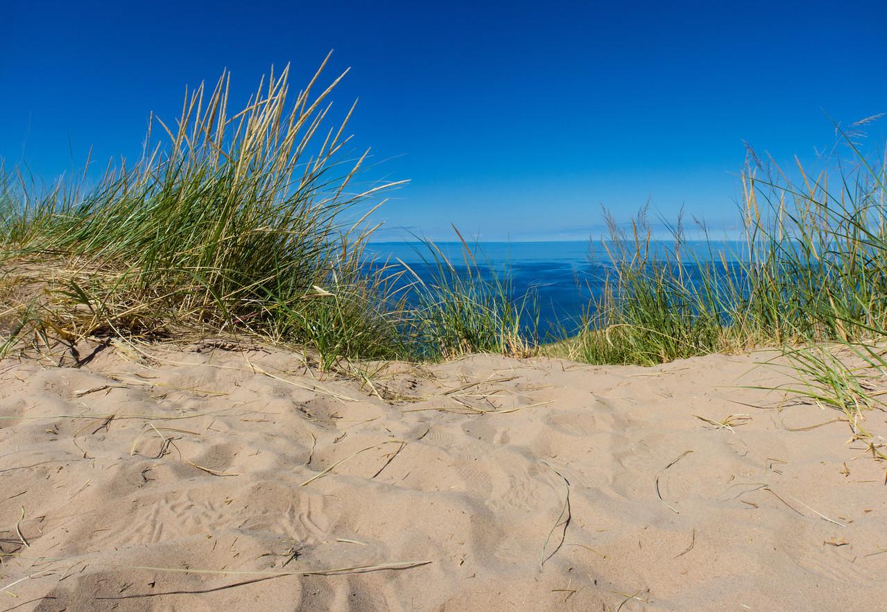 Atop Sleeping Bear Dunes
