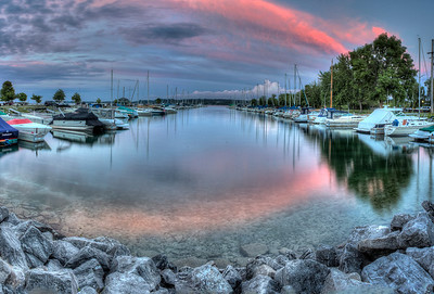 Safe Harbor in Evening