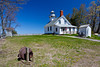 The Old Mission Point Lighthouse near Traverse City, MIchigan, USA.