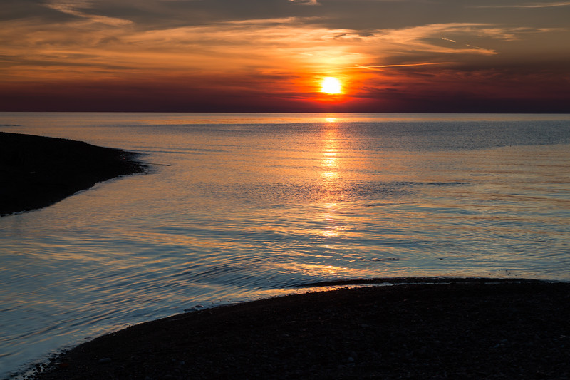 Presque Isle River Sunset