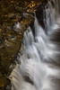 There are several waterfalls along the Mosquito River. This is the first fall encountered along the trail. Picture Rocks National Lakeshore, MI<br /> <br /> MI-120930-0466
