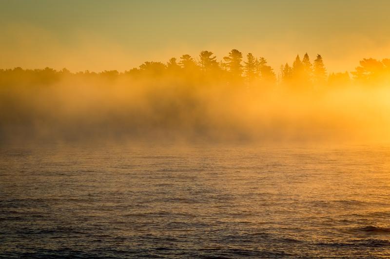 Eagle Harbor Fog