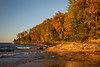 Miners Beach lakeshore. Picture Rocks National Lakeshore, MI<br /> <br /> MI-120929-0202