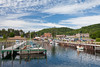 Munising Harbor in early morning. Munising, MI<br /> <br /> MI-090622-0027