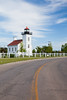 Street view of Sand Point Lighthouse. Escanaba, MI<br /> <br /> MI-090621-0062