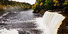 Downstream view of the Tahquamenon River. Chippewa County, MI<br /> <br /> MI-110930-0232