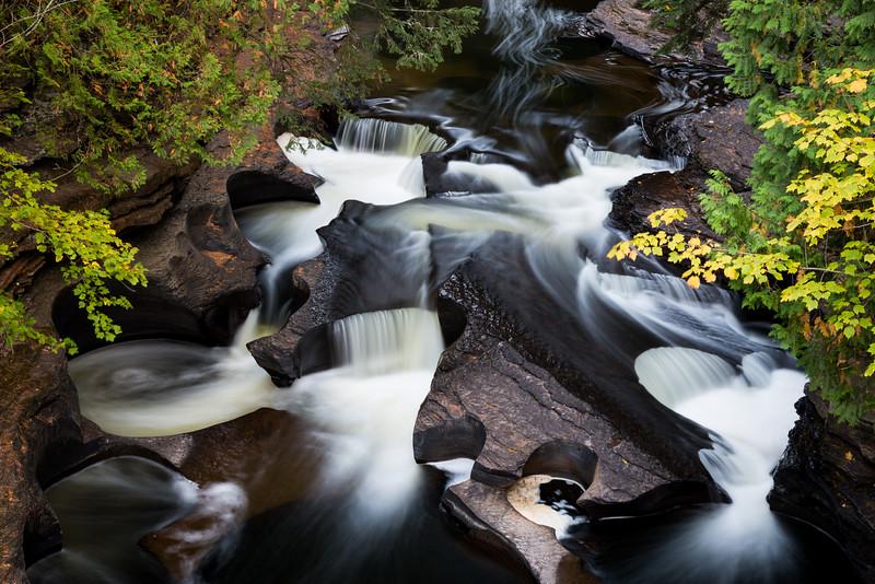 Presque Isle River Gorge