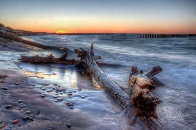 Whitefish Point Sunset