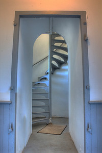 Point Iroquois Lighthouse Stairs