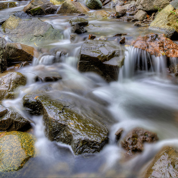 Stream over Rocks
