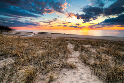 Spring Sunset at Warren Dunes