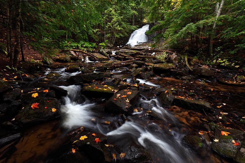 Constructed Fall - Alder Falls (Alder, MI)