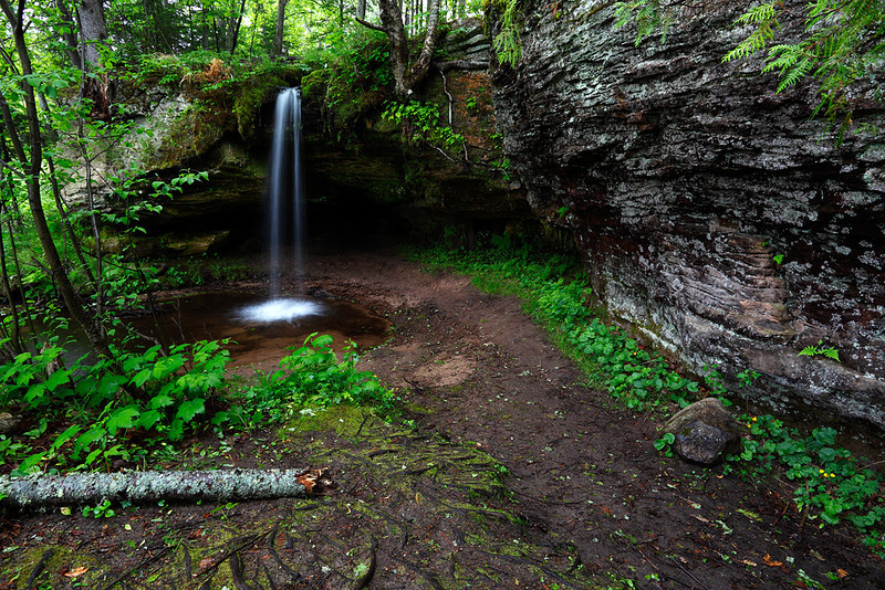 Verdant Vale - Scott Falls (Alger County - Upper Michigan)