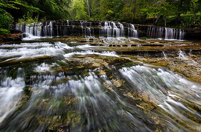 Summer Cascades - Au Train Falls (Au Train, MI)
