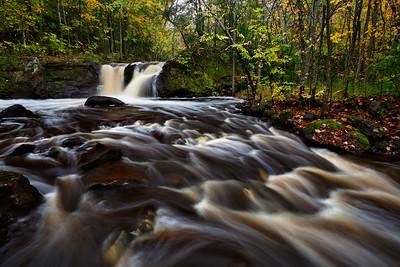 Swelling Sluice - Root Beer Falls (Upper Michigan)