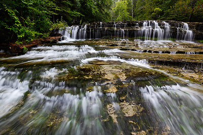 Summer Cascades II - Au Train Falls (Au Train, MI)