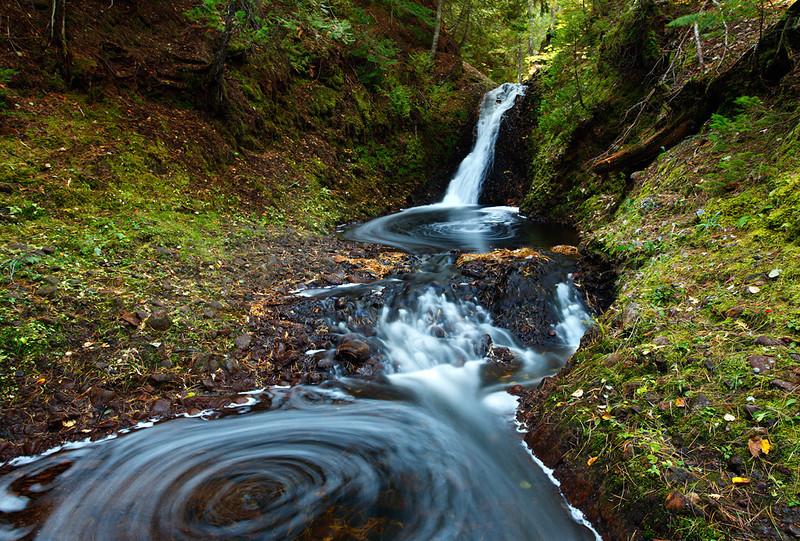 Languid Whirl - Silver Creek Falls (Eagle River, MI)