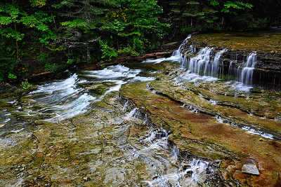 Summer Cascades III - Au Train Falls (Au Train, MI)