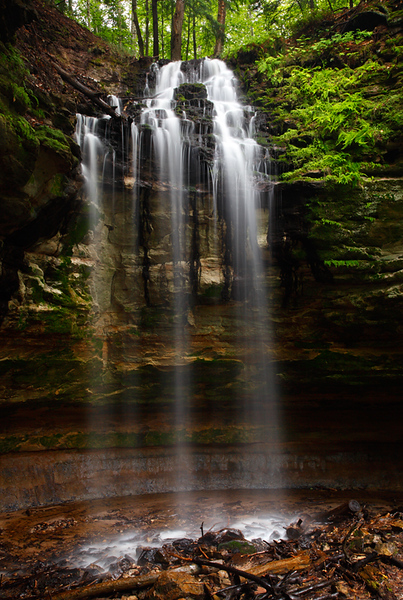 Ambience - Tannery Falls (Pictured Rocks National Lakeshore - Upper Michigan)