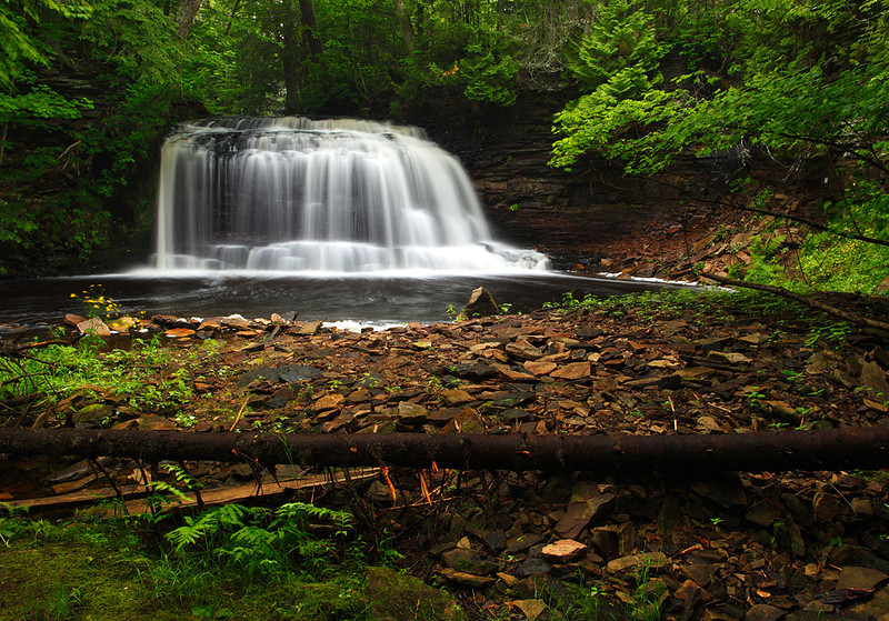Journey's End - Rock River Falls (Rock River Canyon Wilderness - Hiawatha National Forest)