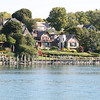 House on bay in Charlevoix