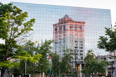 Reflection of McKay Tower