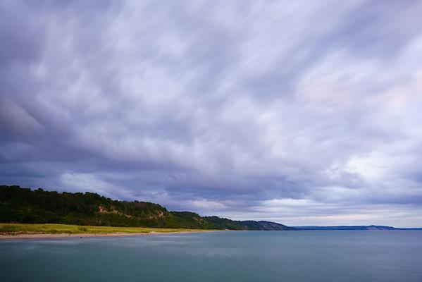 Storm Clouds / Lake Michigan