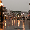 Rain at dawn in Mackinaw Island