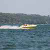 Jet boat in east bay Traverse City