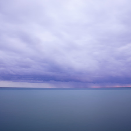 Storm on Lake Michigan / Frankfort, Michigan