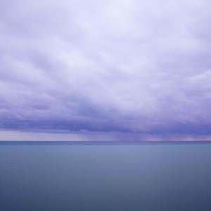 Storm on Lake Michigan / Frankfort, Michigan