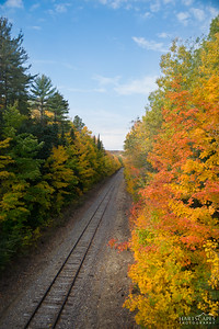 UP Fall Railroad