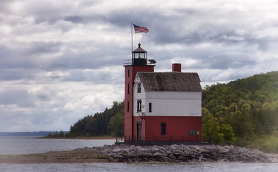 Round Island Lighthouse, Mackinac Island