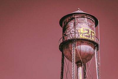 Graffiti Water Tower