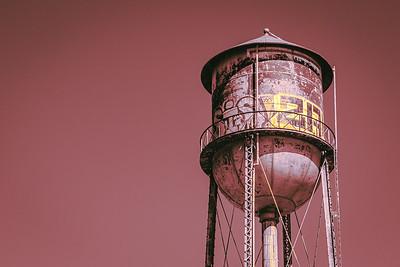 Graffiti Water Tower