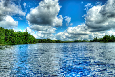 Craig Lake with Cloud Reflections
