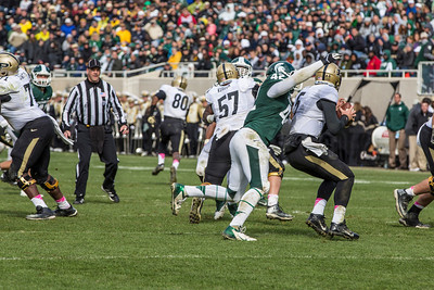 MSU vs Purdue Football 10.19.13