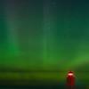 Aurora at Charlevoix, MI S Pier Head Lighthouse , September 2, 2016_GJW4182