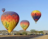 Early morning balloon launch just outside of Cave Creek Arizona.