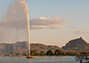 Fountain Hills at sunset.